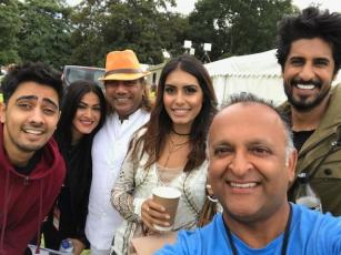 Zee London Mela 2017 hosts