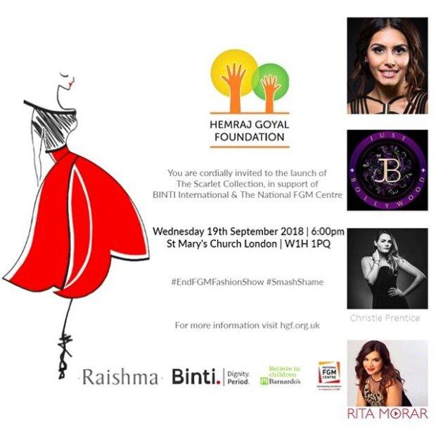 Hemraj Goyal Foundation Ball with Binti